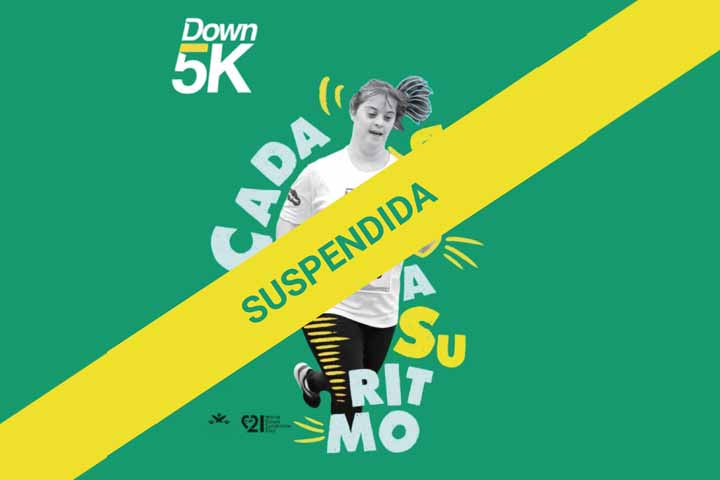 Down 5k suspendida